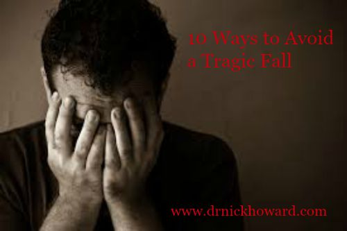 10 Ways Avoid a Tragic Fall